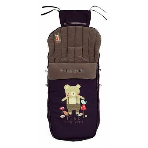 Grey Camouflage Fleece Footmuff Compatible With Jane Rocket