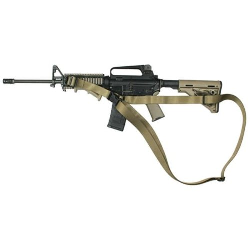 Specter Gear 694 OD-ERB CQB Sling M-4A1 with Magpul collapsible stock & side front sling swivel Olive Drab with ERB