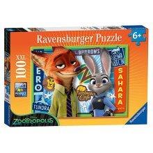 Ravensburger Disney Zootropolis Xxl Puzzle - 100 Pieces