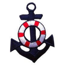 """Set of 2 Creative Cool Navy Style Patch Fashion Armband Badge Applique 1.8*2.4"""""""