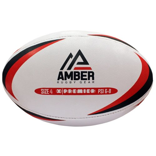 Amber Sporting Goods X-Premier Match Training league Rugby Ball Size 4