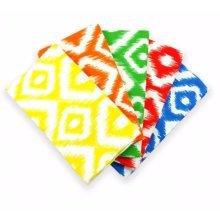 Fat Quarter Bundle - 100% Cotton - Blenders Bright - Pack of 5