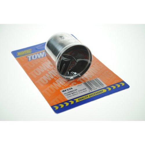 Aluminium Tow Ball Cap Cover - Maypole 239a Tow -  aluminium maypole tow ball cap 239a towball cover