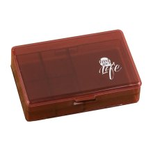 Travel Portable Medicine Pill Holder Organizer Container