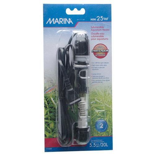 Marina Submersible Pre-Set Heater Mini 15cm (25w)