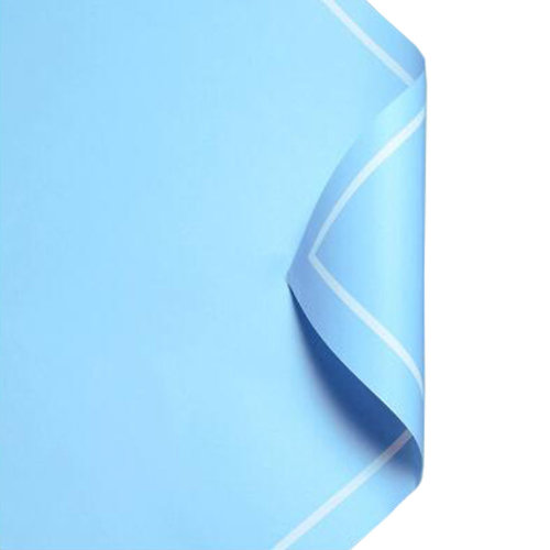 20Pcs Flowers Wrapping Paper Gift Packaging Paper Bouquets Of Paper,  Blue