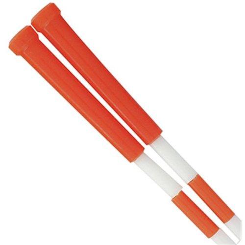 Champion Sports CHSPR7 Plastic Segmented Ropes 7Ft Red & White