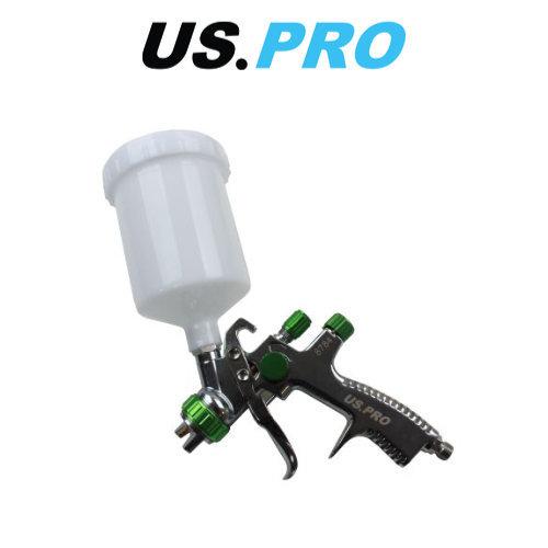 US PRO 1.4MM Nozzle LVLP Gravity Feed Spray Gun 600ML 8784