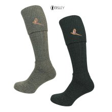Bisley Pheasant Embroidered Breek Socks - traditional shooting and hunting socks