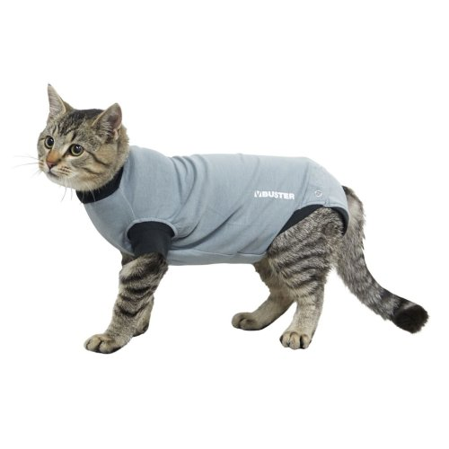 Buster Body Suit Easy Go For Cats Grey/black L38.5cm Xsml