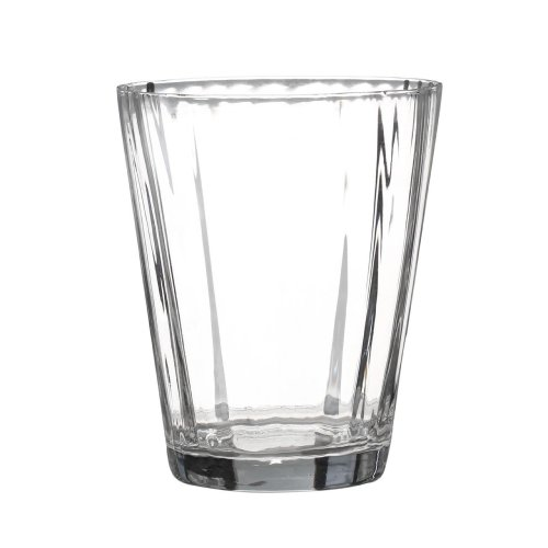 Ribbed Tumblers - Clear, Set of 2