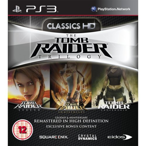 The Tomb Raider Trilogy Classics HD PS3