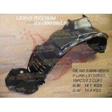 Lexus Rx300/400 2003-2009 Front Wing Arch Liner Splashguard Left N/s