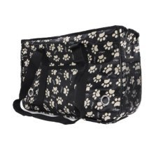 Pet Carrier Soft Sided Travel Bag for Small dogs & cats- Airline Approved, Black #27