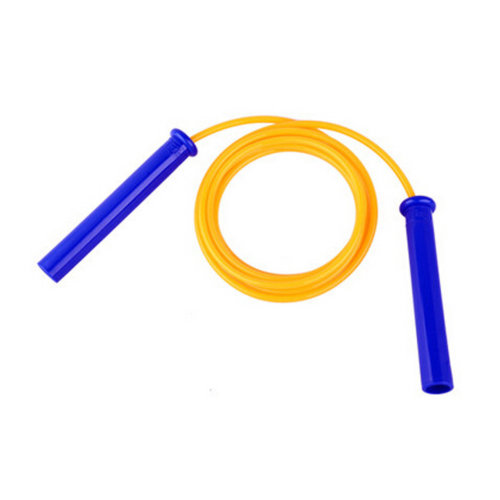 Jump Rope for Exercise,Professional fitness Speed Rope PU Rope 2.8M Yellow