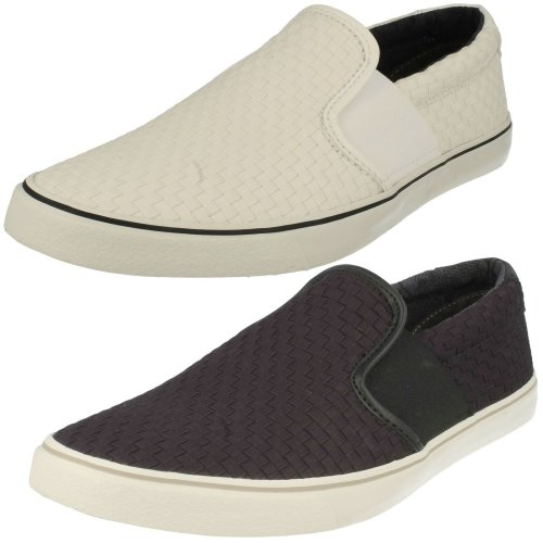 Mens Clarks Casual Slip On Shoes Gosling Step - G Fit