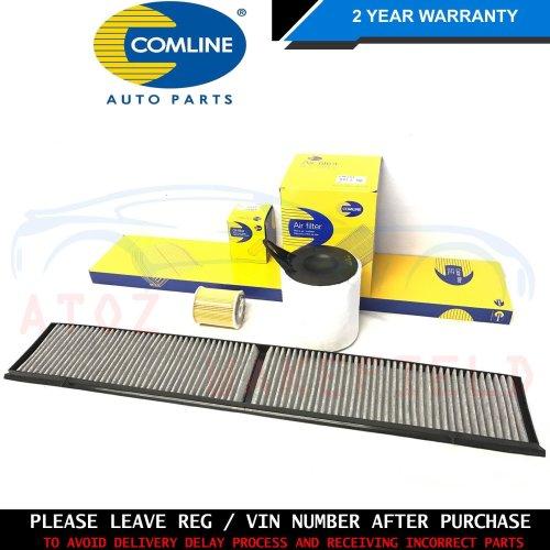 BMW E90 E91 E92 E93 320i 2.0 COMLINE OIL AIR POLLEN CABIN FILTERS SERVICE KIT