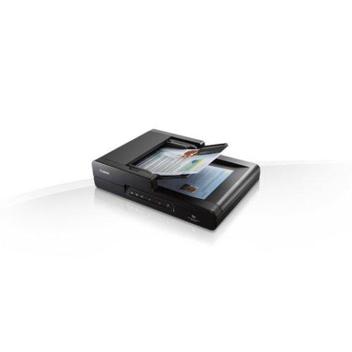 Canon imageFORMULA DR-F120 Flatbed & ADF scanner 600 x 600DPI Black