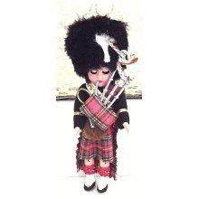 Vintage Celluloid Plastic Scottish Doll (1970's)