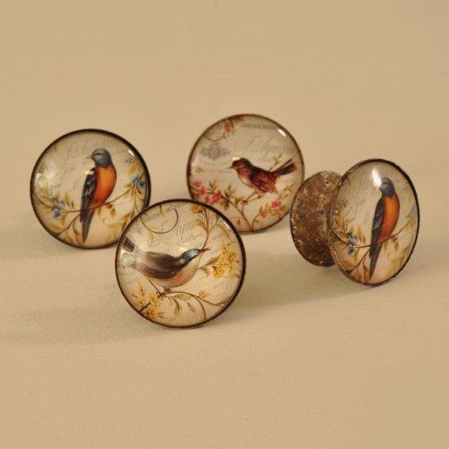 Set of 4 Bird Door Handles