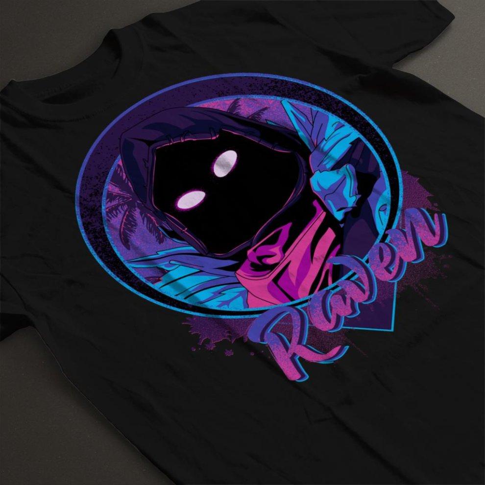 8c426f97 Raven Portrait Fortnite Men's T-Shirt