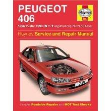 Peugeot 406 Petrol & Diesel (96 - Mar 99) Haynes Repair Manual: 1996-1999 (Haynes Service and Repair Manuals)
