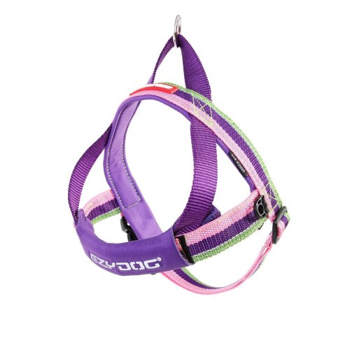 EZYDOG QUICK FIT HARNESS BUBBLEGUM (L)