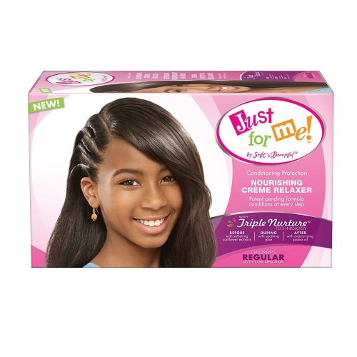 Just For Me Nourishing Creme Relaxer with Triple Moisture Regular
