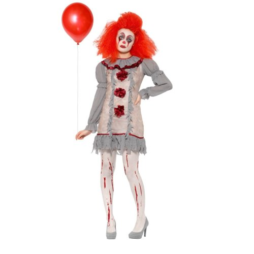 (Medium) Smiffys Clown Lady Costume   Women's Clown Costume