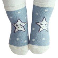 3 Pairs Non-slip Newborn Baby Toddler Socks Warm Thin Non-skid Stockings Baby Gift For 1-2 Year Baby-A03