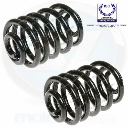 For BMW M3 3.2 Coupe E46 Rear suspension coil springs OEM quality pair LH RH