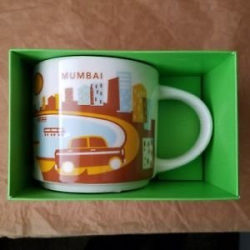 Starbucks You Are Here Collection Mug - Mumbai