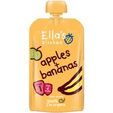 Ellas Kitchen Stage 1 Baby Rice - Banana & Apricot 120g