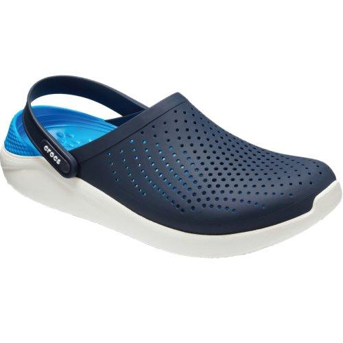 Crocs LiteRide Clog 204592-462 Mens Navy Blue slides Size: 6 UK