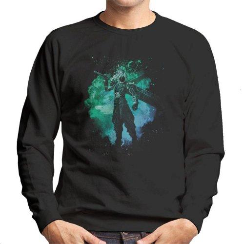 Soul Of The Meteor Cloud Strife Final Fantasy VII Men's Sweatshirt