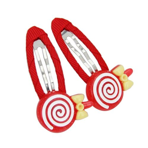[Candy-2] 6 Pairs Cute Hair Clip Baby Girls Hair Clip Princess Hair Barrettes