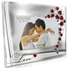 "WG83180 Celebrations Mr /& Mrs Sparkle Photo Frame 8/"" x 10/"""