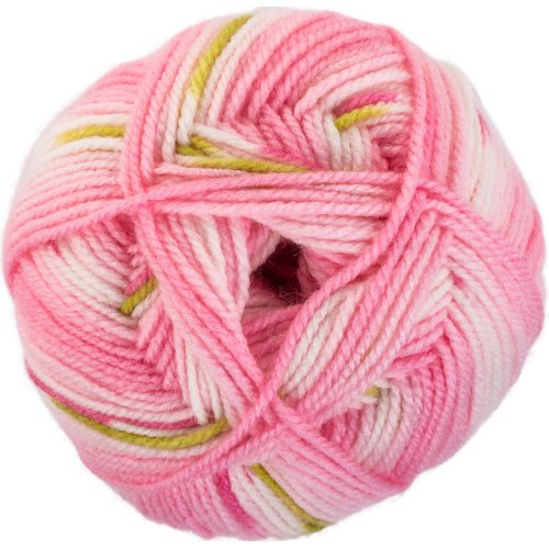 Red Heart Hugs & Kisses Yarn-Hot Pink