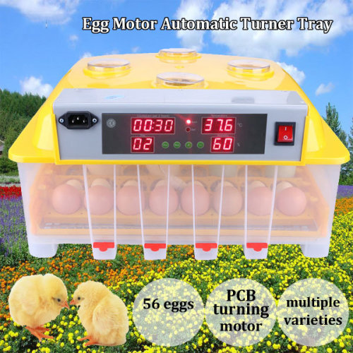 Eggs Turner Automatic Chicken Bird Poultry Egg Incubator Hatcher Tray