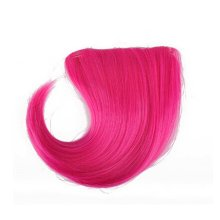 Colorful Wigs for Cosplay,Stage/Party Wig/Hair Bangs Wig,Dark Rose
