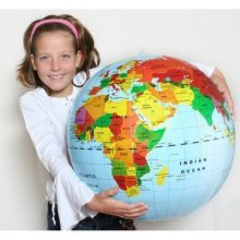 Giant Inflatable Earth Globe 20-Inch Diameter high quality