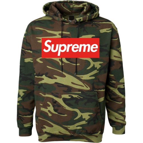 Supreme camo adult hoodie