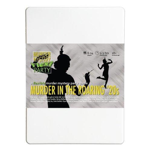 Murder in the Roaring 20s 6-14 Player Murder Mystery Flexi-Party by Murder Mystery Flexi Party