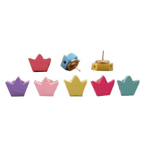 25 Pcs Wood Creative Color Pushpin Push Pin Thumbtack Office Supplies