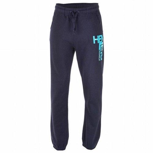 Henleys Men's Basics Fleece Joggers Jogging Bottoms Navy Small