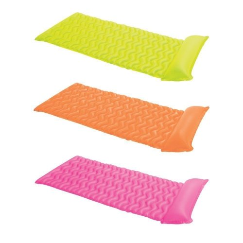 Inflatable Tote N Float Wave Mat Lounger