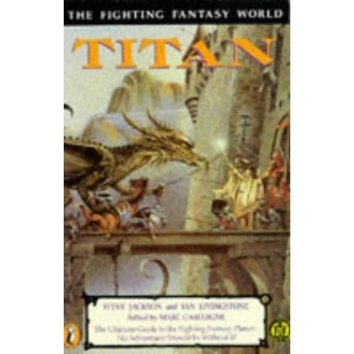 Titan: The Fighting Fantasy World (Puffin Adventure Gamebooks)