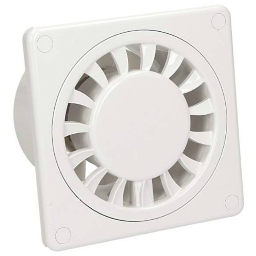 Low Energy Silent Kitchen Bathroom Extractor Fan 100mm Standard DISK Ventilator