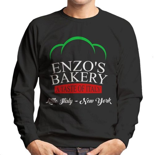 Enzos Bakery Little Italy The Godfather Men's Sweatshirt