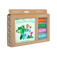 The Brushies  baby and toddler toothbrush and storybook gift set!